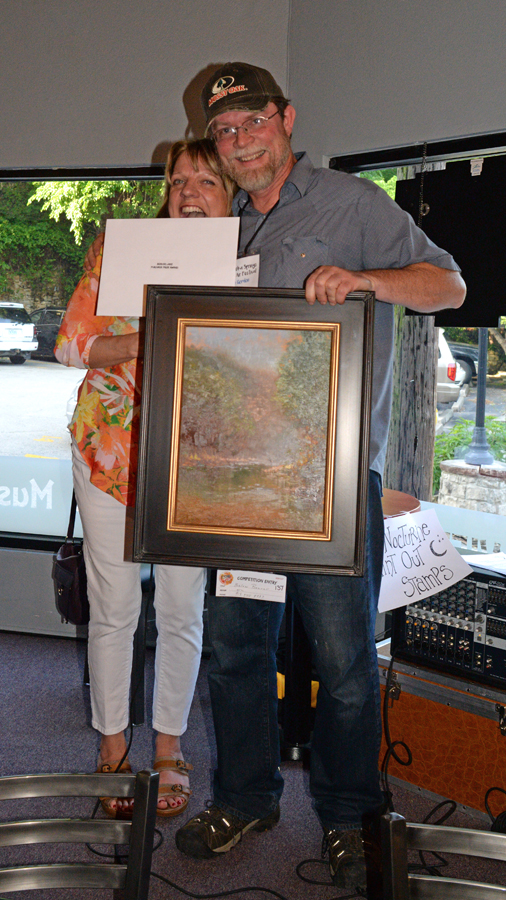 Nyle Gordon - $1000 Purchase Prize Award Beaver Lake Paint-Out