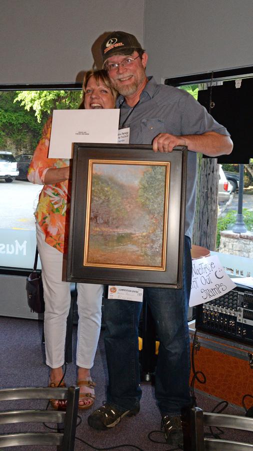 Nyle Gordon - $1000 Purchase Prize Award Beaver Lake Paint-Out
