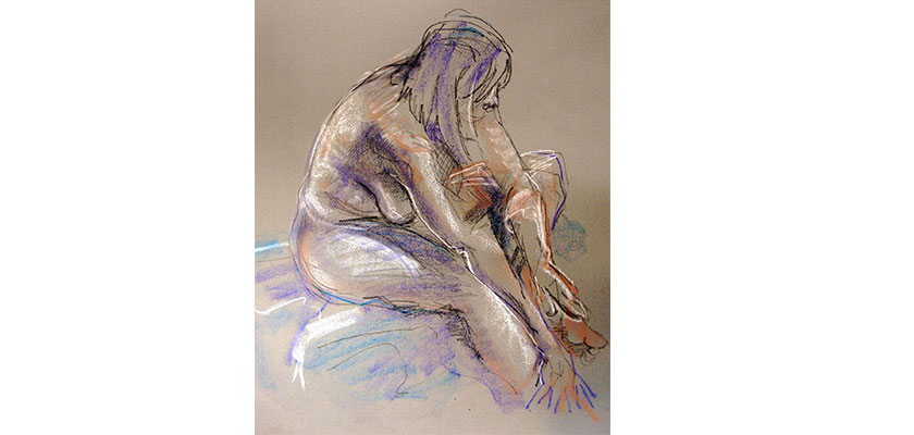 Mary Springer Life Drawing 3