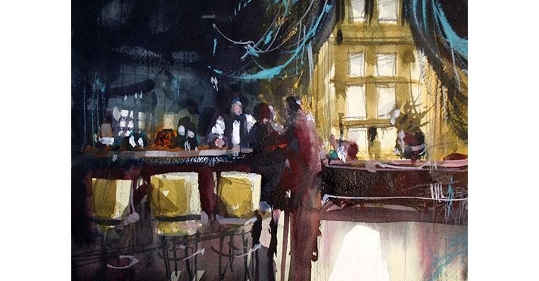 Richard Stephens Painting Workshop